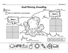 Teacher's Helper Kindergarten February/March 2015 - Good Morning, GroundhogThe Mailbox
