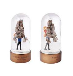Simply Fab: Henri Bendel Fashion-Forward Snowglobe | POPSUGAR Fashion