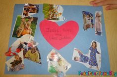 Sunday School Crafts: Jesus Loves the Little Children - Blessings Overflowing