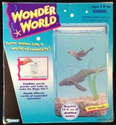 KennerCollector.com Water World - Of course I had the whale one