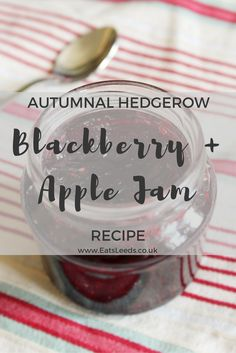 EatsLeeds - Apple and Blackberry Jam Recipe - Pinterest