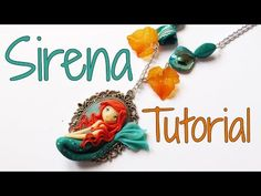 The Little Mermaid Cameo Chibi polymer clay tutorial