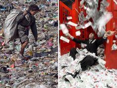 Oxfam: Ein Prozent der Menschen besitzt bald mehr als alle anderen zusammen