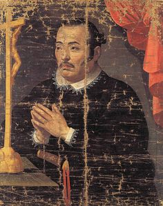 1615.Hasekura Tsunenaga, Sendai City Museum, Miyagi, Japan; oil on canvas, 80.8cm by 64.5cm.Materials of the Keicho Embassy to Europe
