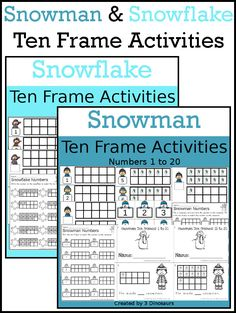 Turkey Themed Ten Frame Set  Sets Of Number Cards HandsOn And