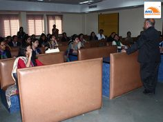 Mr S.K. Bhattachrya giving lecture