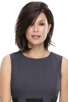 Ericdress Middle Length Natural Straight Bob Hairstyle Blunt Cut Side Parted Synthetic Capless Wigs 12 Inches Blunt Bob Hairstyles, New Short Hairstyles, Hairstyles Haircuts, Pixie Haircuts, Pretty Hairstyles, Straight Hairstyles, Medium Hair Styles, Natural Hair Styles, Short Hair Styles