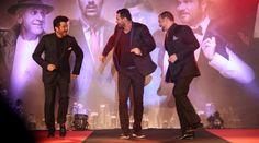 John Abraham, Anil Kapoor, Nana Patekar dance at 'Welcome Back' song launch