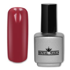 Royal Nails UV Gel Lack: UV-Gel Lack Royal Nails Red Wine 11 ml. Vernis Gel Uv, Royal Nails, Uv Gel Nagellack, Lampe Uv, Nail Polish, Finger, Red Nails, Red Wine, Nail Art