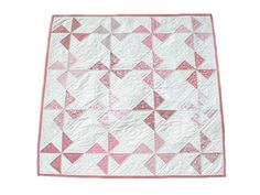 Pink Pinwheels Quilt Kit-Learn How to Quilt Kit for Beginners