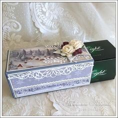After Eight - Pion Design Handmade Christmas, Christmas Crafts, Matchbox Crafts, Cardmaking And Papercraft, 3d Cards, Chocolate Box, Vintage Paper, Handmade Crafts, Decorative Boxes