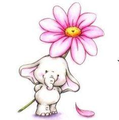 The love of an elephant - My . El amor de un elefante – My Info – Children& elephant poems. The love of an elephant – My Info – - Elephant Love, Elephant Art, Elephant Nursery, Animal Drawings, Elephant Drawings, Cute Cartoon, Easy Drawings, Doodle Art, Cute Art