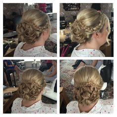 More up styles with plaits......
