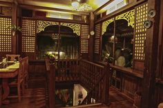 Sulyap Gallery Cafe and Restaurant Filipino Architecture, Philippine Architecture, Filipino Art, Filipino Culture, Modern Filipino House, Interior Architecture, Interior And Exterior, Spanish Colonial Homes, Philippine Houses