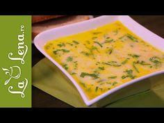 Ciorba de pui a la grec - Reteta VIDEO Romanian Food, Romanian Recipes, Winter Warmers, Thai Red Curry, Delish, Ethnic Recipes, Youtube, Greece, Youtubers