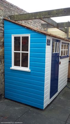 Unexpected from The shed is positioned at the side of the house, at the back, outside the kitchen wall | #shedoftheyear