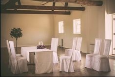 Our Archers Hall set up for it's first ever civil ceremony! #weddings