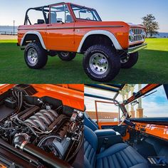 This 1974 Velocity Bronco is the perfect summer ride! Bronco Car, Old Ford Bronco, Early Bronco, Classic Bronco, Classic Ford Broncos, Classic Trucks, Classic Cars, Ford 4x4, Ford Pickup Trucks