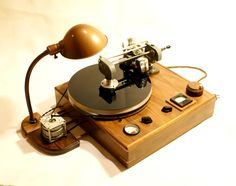Record Cutter (Lathe) constructed by Arius Blaze - www.remix-numerisation.fr
