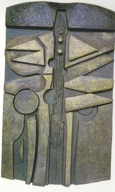 Bronze relief Abstract Contemporary or Modern Outdoor Outside Exterior Garden / Yard Sculptures Statues statuary #sculpture by #sculptor Peter Thursby titled: 'Designed Growth' #art