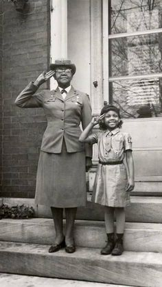Meet Josephine Holloway, one of the first African American Girl Scout troop leaders who lobbied for the Girl Scouts to include African Americans.