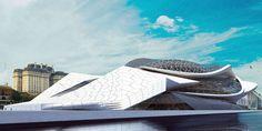 Contemporary Museum Of Art, Buenos Aires, Argentina, future architecture, futuristic building, Fluxion Synergies,  futuristic architecture, future building