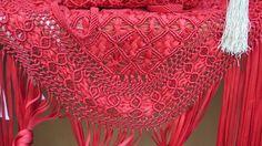 Crochet Shawl, Lovely Things, Diy Fashion, Boho Shorts, Knots, Weaving, Ribbons, Bangs, Blouses