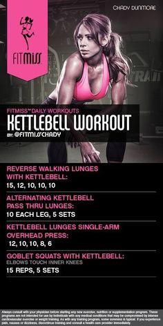Kettleball workout
