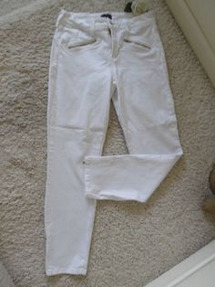 NOT YOUR DAUGHTERS JEANS 2 WHITE LEGGING~NYD LIFTTUCK WAIST 28 LEGGING ~95% NEW #NotYourDaughtersJeans #LEGGING