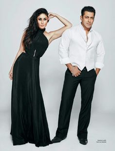 Salman Khan ANd Kareena Kapoor Filmfare July Photoshoot