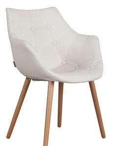 moderne witte stoelen met armleuning - Google zoeken 159€ More