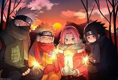 Feliz cumpleaños Naruto 🎂🎂🎂 - Feliz Navidad - Página 2 - Wattpad Naruto Uzumaki Shippuden, Naruto Kakashi, Naruto Team 7, Naruto Fan Art, Naruto Sasuke Sakura, Naruto Comic, Wallpaper Naruto Shippuden, Naruto Cute, Otaku Anime