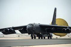 O B-36 foi substituído pelo B-52 no final dos anos 1950 (USAF)