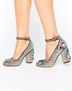 Zapatos de tacón con adornos PROVEN de ASOS