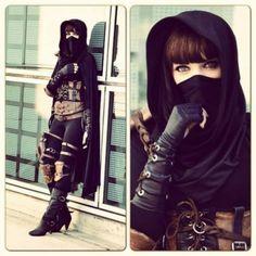Niesamowite cosplaye obrazek 10 Steampunk Cosplay, Steampunk Fashion, Steampunk Assassin, Steampunk Female, Halloween Kostüm, Halloween Costumes, Women Halloween, Halloween Disfraces, Mori Girl