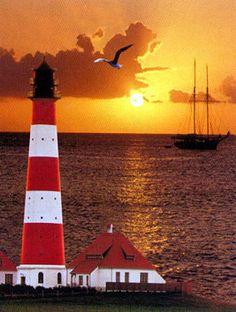North Sea Lighthouse