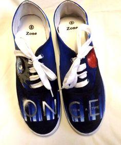 Once Upon A Time Shoes by AllHeartAndSole on Etsy White Sharpie, Hook And Emma, Best Tv Shows, Ouat, Once Upon A Time, Trending Outfits, Unique Jewelry, Sneakers, Life