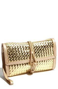 Love a gold clutch