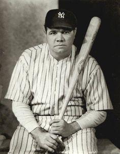 Babe Ruth - #3 New York Yankees