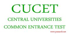 Looking for CUCET 2017 Entrance Exam? Visit Yosearch for CUCET 2017 Exam Dates, CUCET UG, PG and PG Diploma Courses, Eligibility, Application, Dates & more