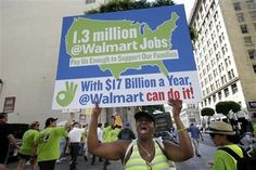 Labor critical of Obama's use of Wal-Mart in energy push