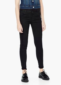 Gecoate skinny jeans | MANGO