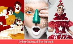 50 Best Christmas Advertisements from Top Brand Ads around the world http://webneel.com/30-best-creative-christmas-ads-advertisements | Design Inspiration http://webneel.com | Follow us www.pinterest.com/webneel