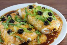 Chicken Wet Burritos Recipe | Yummly