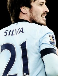 David Silva. 21. Manchester City. Spain nt.