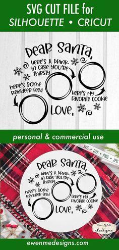 Christmas Vinyl, Christmas Plates, Santa Christmas, Christmas Projects, Father Christmas, Retro Christmas, Christmas Trees, Christmas Cookies, Cricut Christmas Ideas