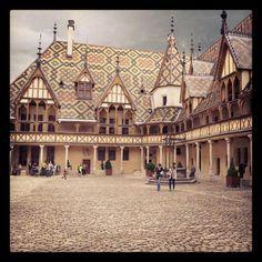 Beautiful Beaune, France.