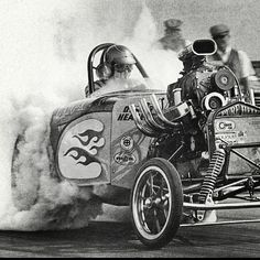 More vintage cars hot rods and kustoms Hot Rods, Old School Muscle Cars, Nhra Drag Racing, Old Race Cars, Vintage Race Car, Vintage Auto, Drag Cars, Car Humor, Luxury Sports Cars