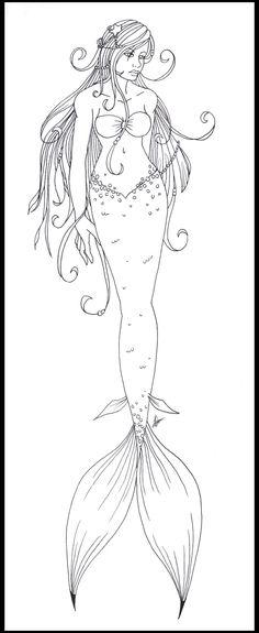 Mejores 438 imágenes de Diseños - Sirenas en Pinterest | Mermaids ...