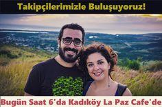 Bu akşam Kadıköy Şa Paz Cafe'de takipçilerimizle buluşuyoruz. 5 ay bıyunca yaşadığımız deneyimleri dinlemek isteyenleri bekliyoruz... #uzaklaryakin #buluşma #dunyaturu
